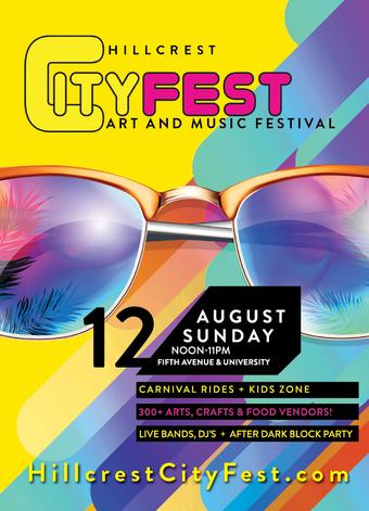 Hillcrest CityFest - Art & Music Festival 2018