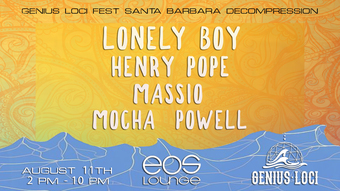 Genius Loci Decompression ft. Lonely Boy at EOS Lounge 8.11.18