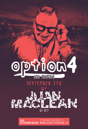 Option4 & friends w/ Juan MacLean DJ Set