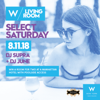 Select Saturday at W New York Times Square - Living Room