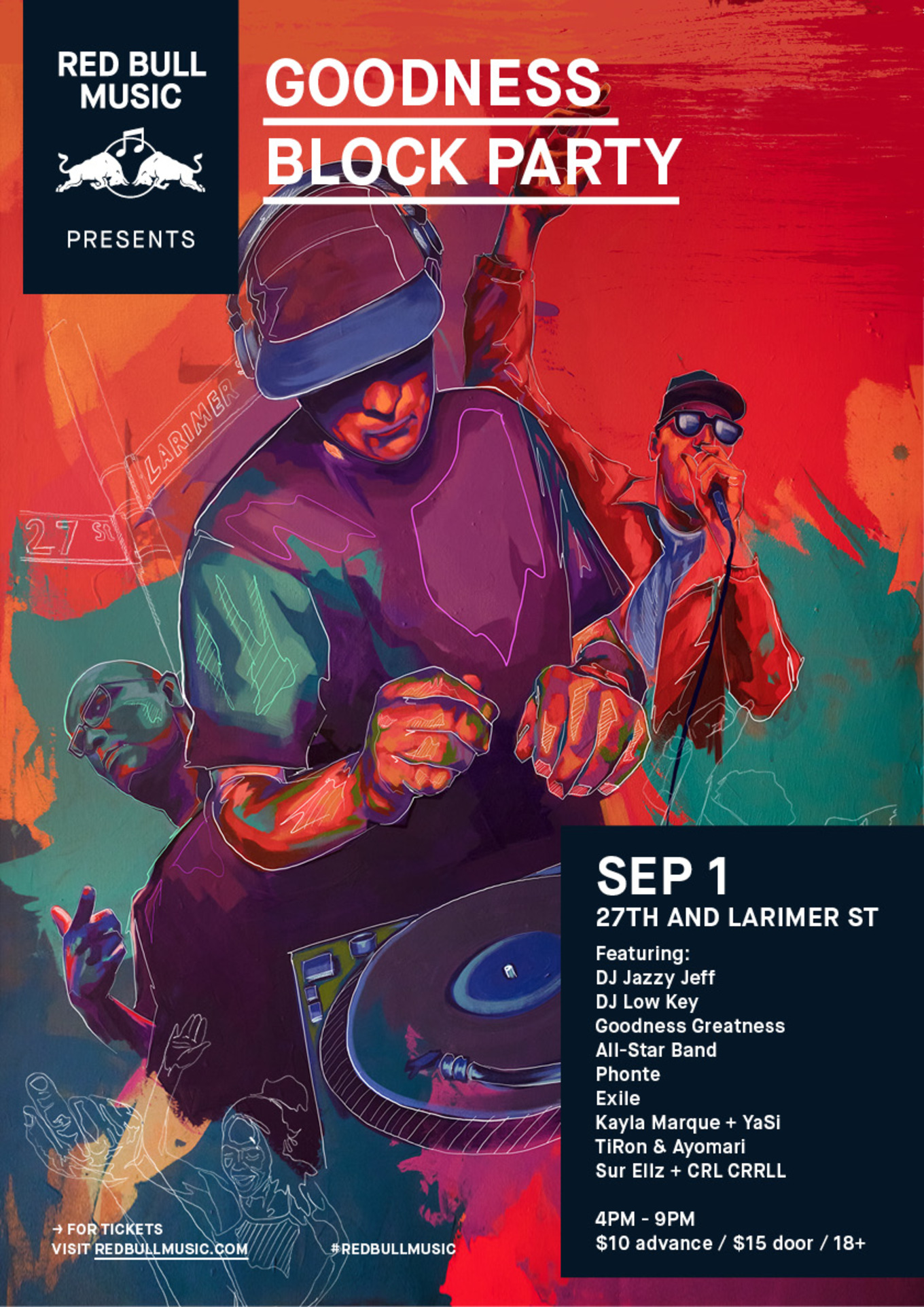 Red Bull Music Presents: Goodness Block Party