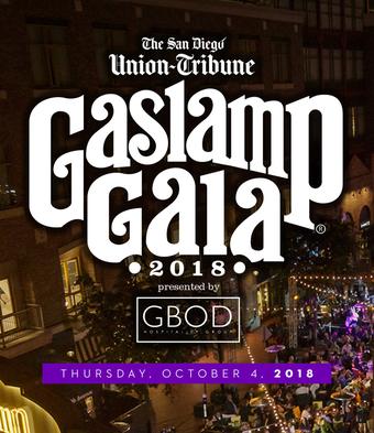 The San Diego Union-Tribune Gaslamp Gala presented by GBOD Group