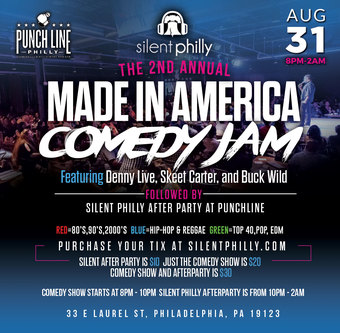 2nd Annual Made in America Comedy Jam - Punchline Philly