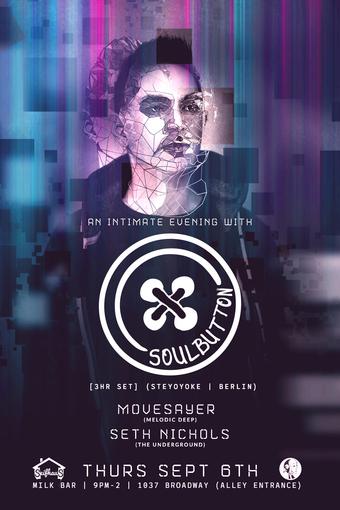 An Intimate Evening w/ Soul Button [3HR SET] (Steyoyoke | Berlin)