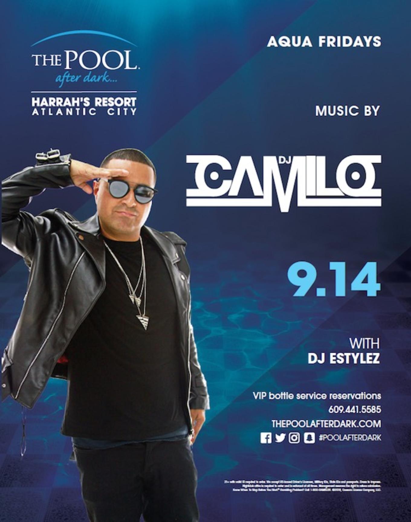 Aqua Fridays featuring DJ Camilo - Tickets - The Pool After Dark