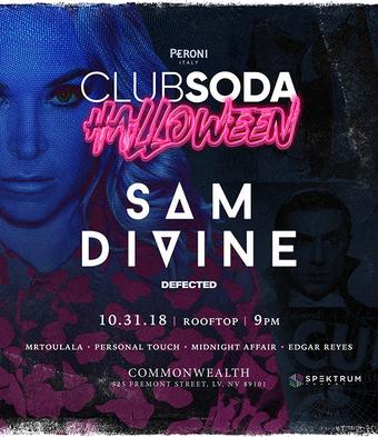 Club Soda Halloween with SAM DIVINE