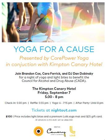 Rooftop Yoga for a Cause Presented by CorePower Yoga