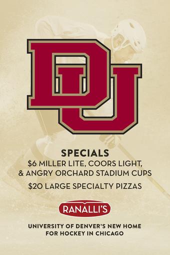 University of Denver Hockey Specials