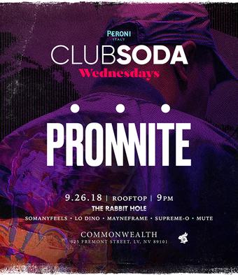 Club Soda with PROMNITE