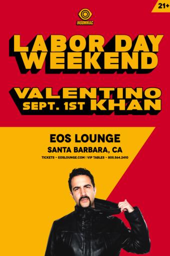 Valentino Khan at EOS Lounge 9.1.18