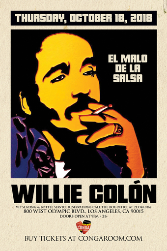 The World Famous Conga Room presents Willie Colon