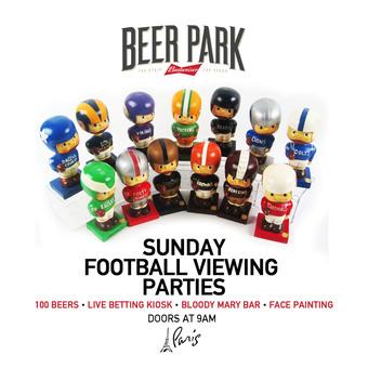 Sunday Football Viewing