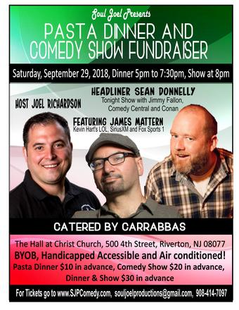 Riverton: Dinner and Comedy Show Fundraiser