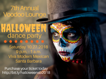 Voodoo Lounge 7th Annual Halloween Dance Party
