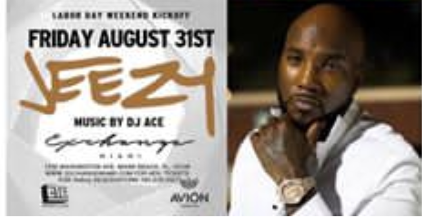 Labor Day Weekend Young Jeezy Live At Exchange Miami Tickets