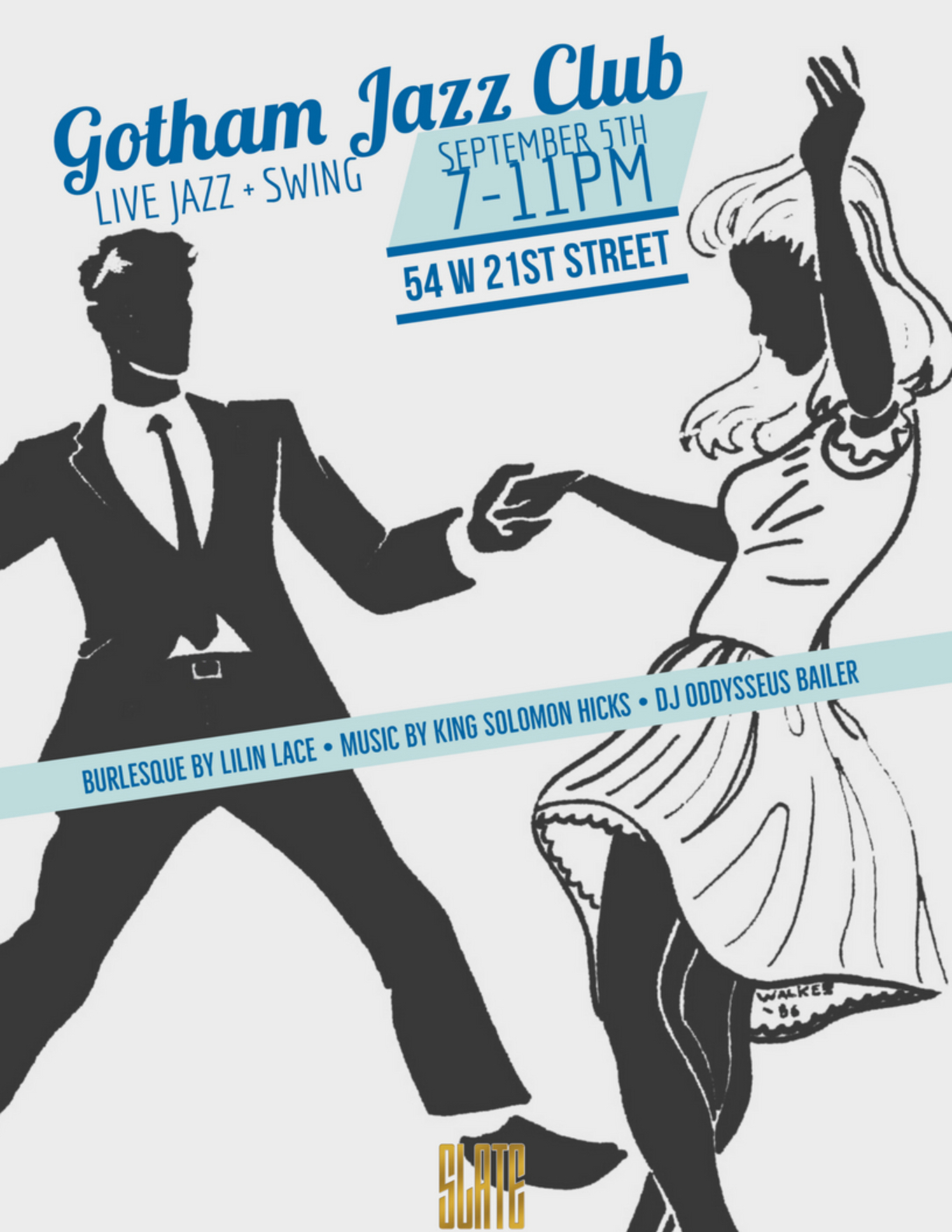 Opening Night Of Gotham Jazz Club At Slate Ny Tickets