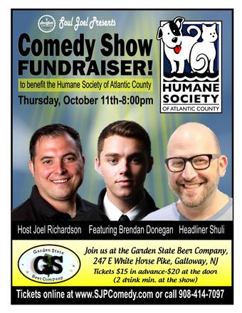Galloway: Human Society of AC Comedy Fundraiser
