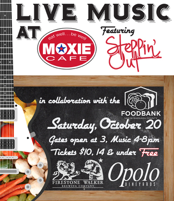 MOXIE Cafe Presents: Steppin' Out!