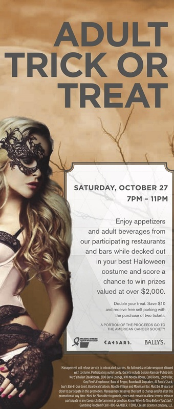 4th Annual Adult Trick or Treat at Bally's & Caesars