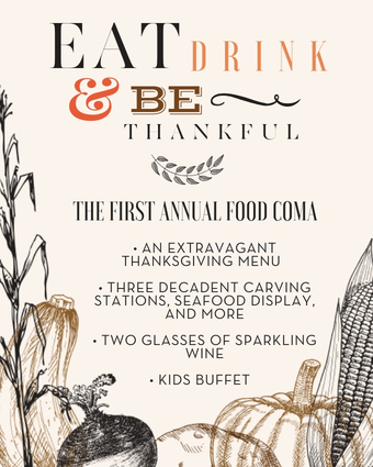 Thanksgiving at Paséa Hotel & Spa 2018