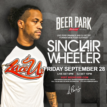 LIVE performance by Sinclair Wheeler