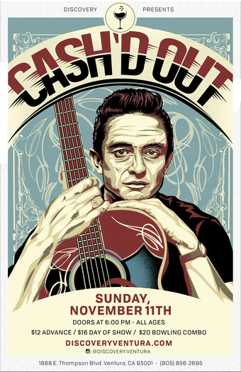 Cash'd Out - Tribute Johnny Cash at Discovery Ventura
