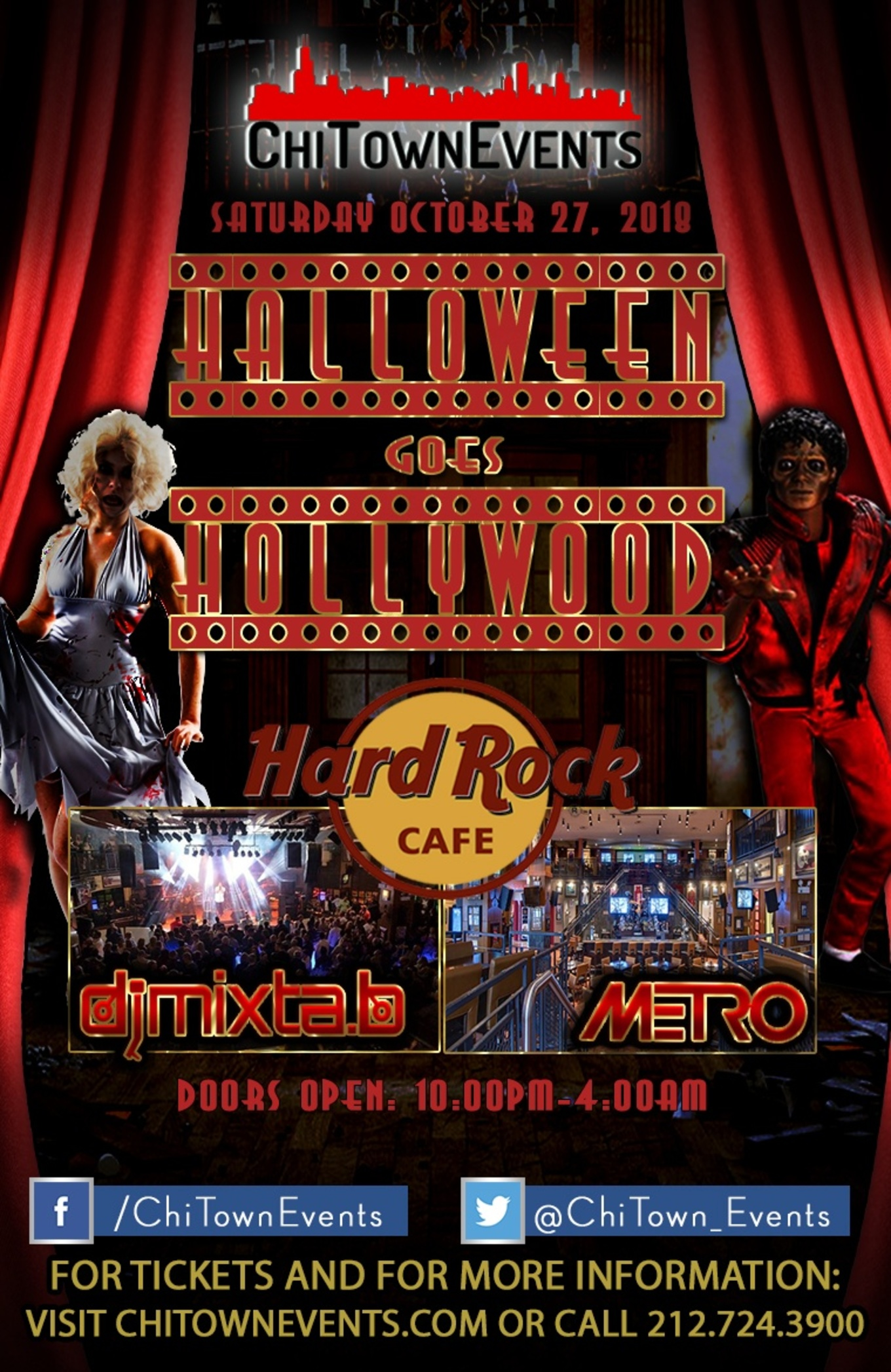 halloween goes hollywood at the hard rock cafe - tickets - the hard