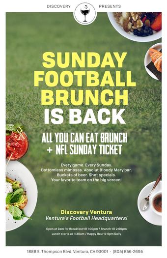 Sunday Football Brunch