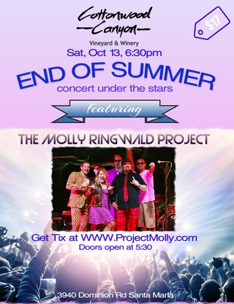 Molly Ringwald Project End of Summer Concert