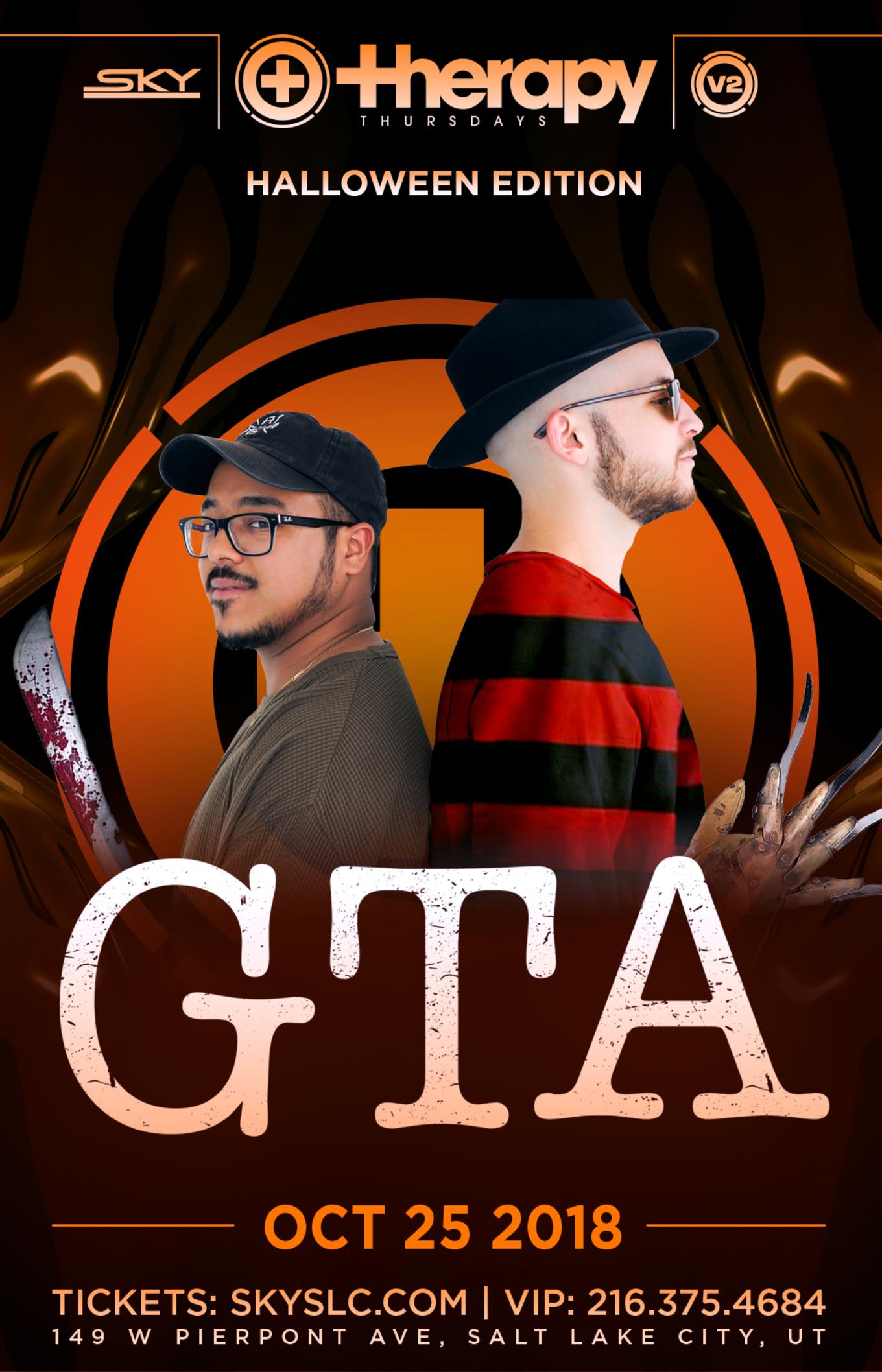 Therapy Thursdays : GTA - Tickets - Sky SLC, Salt Lake City