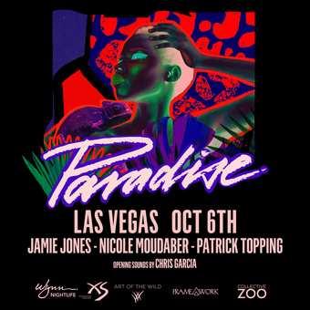 Paradise Jamie Jones, Nicole Moudaber, Patrick Topping - Art of the Wild