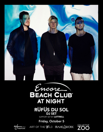 RÜFÜS DU SOL (DJ Set) with Support Set By Luttrell - Art of the Wild