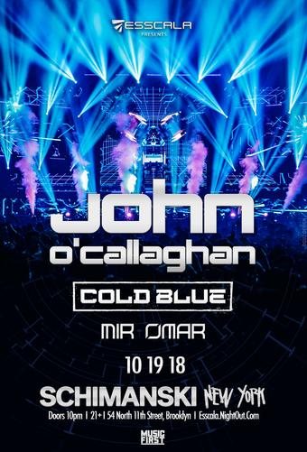 Esscala Presents: John O'Callaghan, Cold Blue & Mir Omar