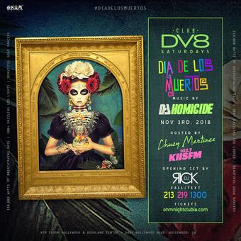 CLUB DV8's Dia de los Muertos
