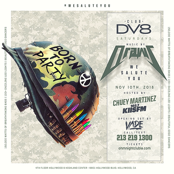 CLUB DV8's We Salute You