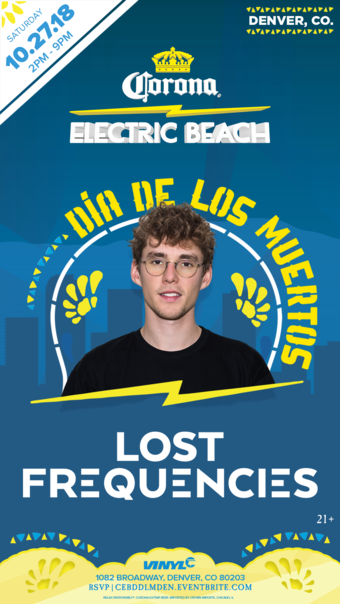 Corona's Electric Beach w/ Lost Frequencies