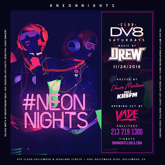 CLUB DV8's Neon Nights