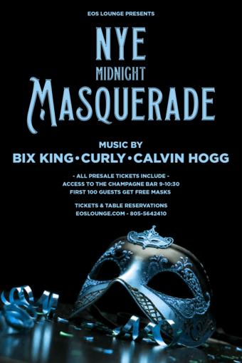 Midnight Masquerade NYE 12.31.18