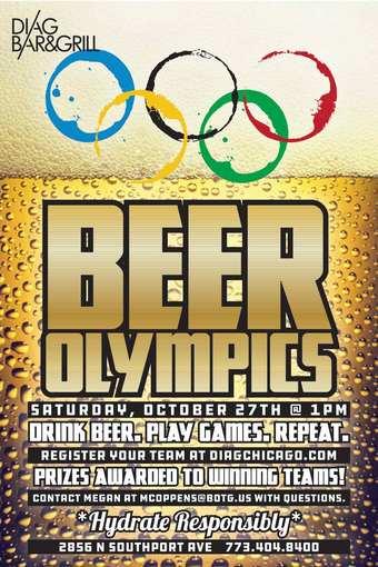 Beer Olympics-Diag