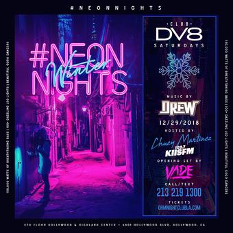 CLUB DV8's Neon Winter Nights