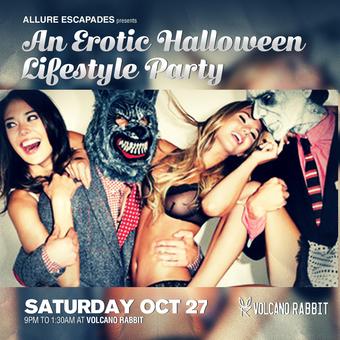 Erotic Halloween Lifestyle Party at Volcano Rabbit