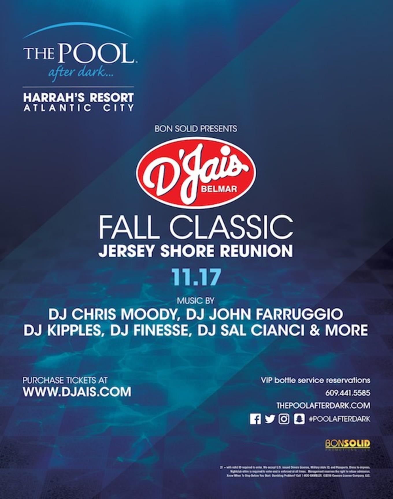 D'Jais Belmar Fall Classic - The Pool After Dark, Atlantic