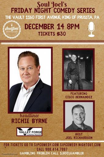 Valley Forge Casino Resort: Richie Byrne