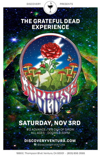 Cubensis - Tribute to The Grateful Dead at Discovery Ventura
