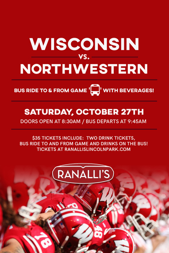 Wisconsin vs. Northwestern Bus Trip 2018