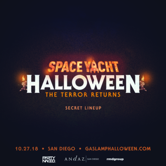 Space Yacht Halloween 2018