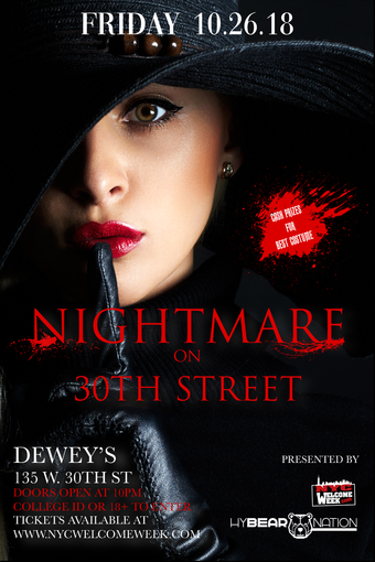 Nightmare on 30th Street (doors open at 11pm)