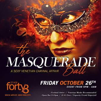 The Halloween Masquerade Ball 2018 - A Sexy Venetian Carnival Affair