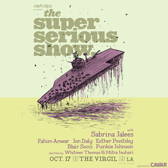 The Super Serious Show with Sabrina Jalees