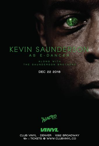 Kevin Saunderson as E-Dancer w/ The Saunderson Brothers